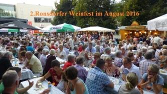 2016.08 Ronsdorfer Weinfest