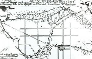1781 Stadtplan Ronsdorf