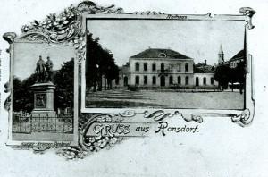 1840 Postkarte Rathaus