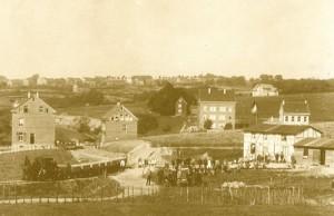 1890 Bau Bahnstrecke