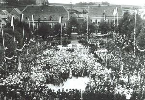 1890 Enthüllung Kaiserdenkmal