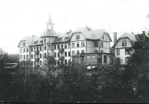1901 Einweihung Lungenheilstätte