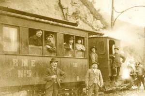 1903 letzte Dampflok nach Müngsten