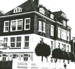 1910 Einweihung Schule Lilienstraße