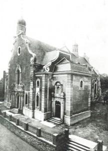 1910 Einweihung kathol. Kirche