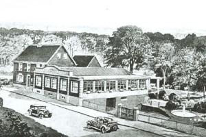 1921 Saalbau an der Wolfskuhle
