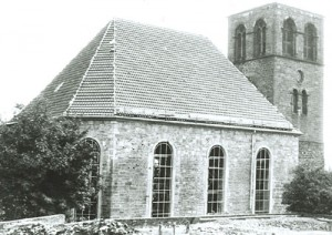 1953 Lutherisch Kirche nach Wiederaufbau