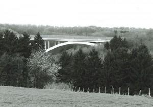 1959 Blombachtalbrücke Fertigstellung