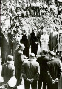 1959 Grundsteinlegung Neubau Verwaltungshaus