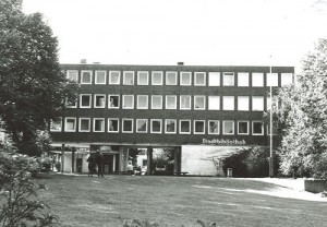 1959 das neue Verwaltungshaus