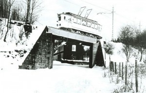 1960 Straßenbahnbrücke Krim