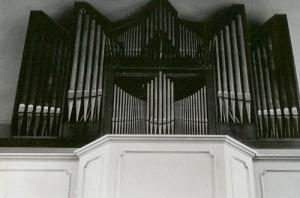 1962 Neue Orgel Lutherkirche