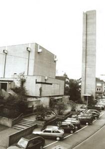 1969 Neue kath. Kirche St. Josef