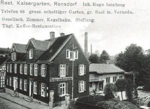 1970 Kaisergarten Abriß für Neubau Burghoff