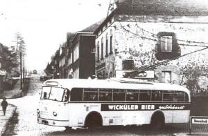1971 letzter O-Bus