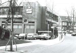 1980 Eröffnung neues Gebäude Sparkasse